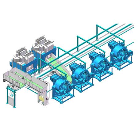 集成式自动化洗涤系统