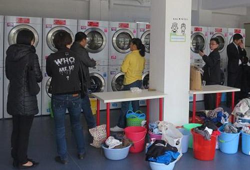 街头投币式万博手机版万博体育网页版登录将会成为一种时尚洗衣方式