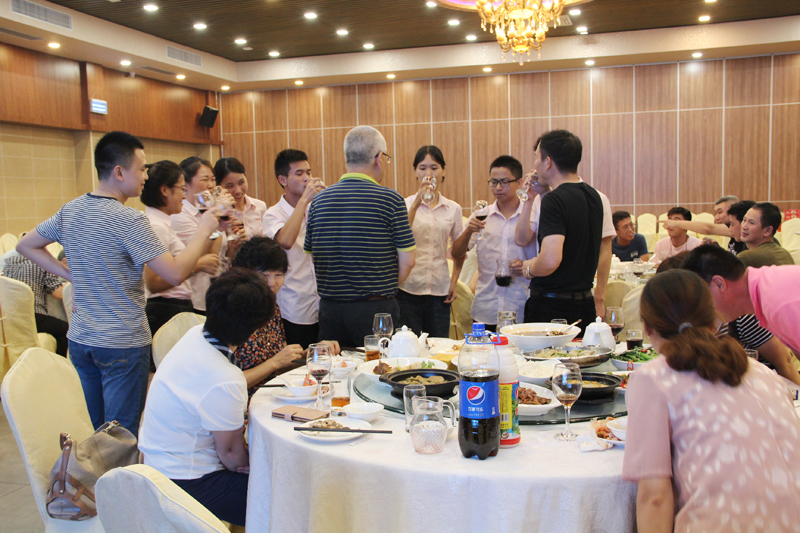 广州市力净洗涤机械有限企业中秋晚会